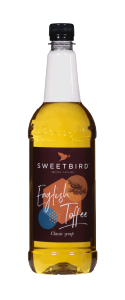 Sweetbird English Toffee Syrup - 1 Litre